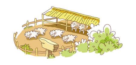icon farm Stock Vector - 16003805