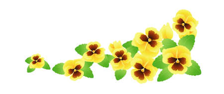 icon pansy Stock Vector - 16014897