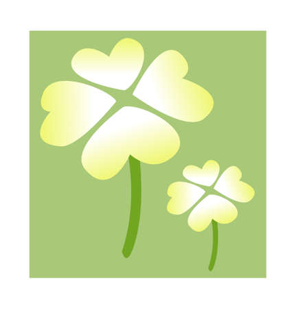 icon clover Stock Vector - 15961100