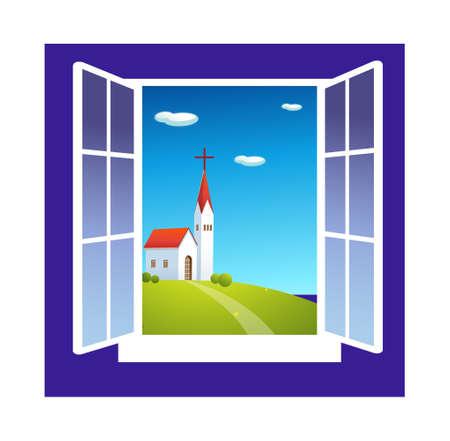 icon window Stock Vector - 16014664