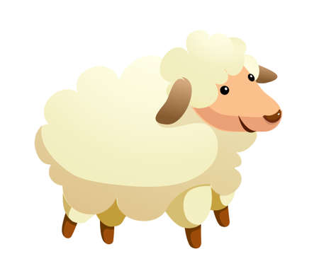 icon sheep Stock Vector - 15992989