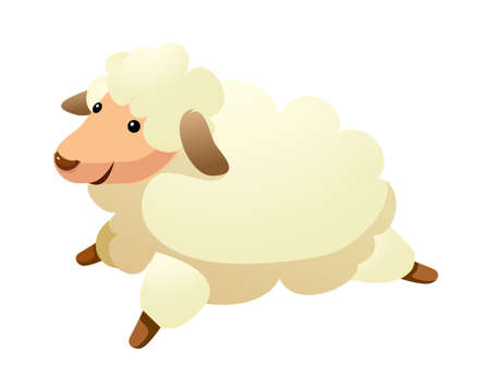 icon sheep Stock Vector - 15989616