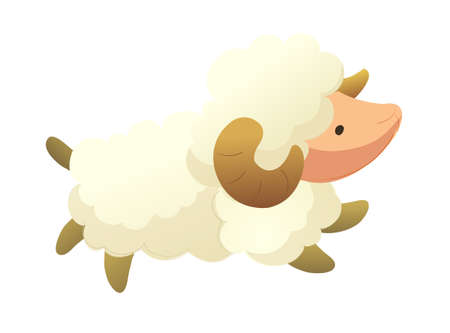icon sheep Stock Vector - 15990630