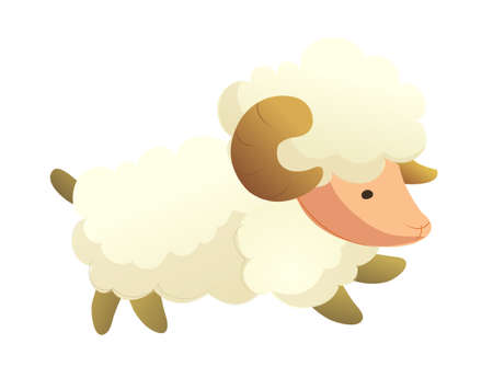 icon sheep Stock Vector - 15991996