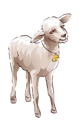 icon sheep Stock Vector - 16014879
