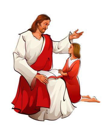 messiah: icona di Ges� Vettoriali