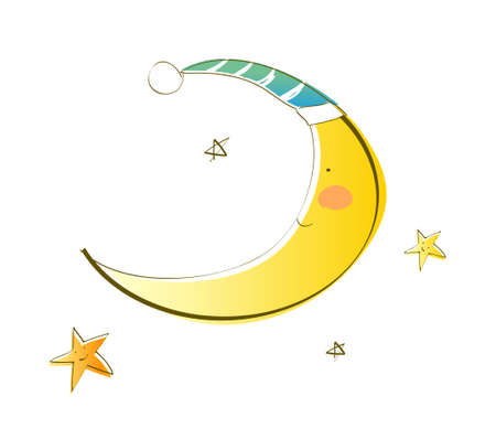 icon_new moon Stock Vector - 15953560