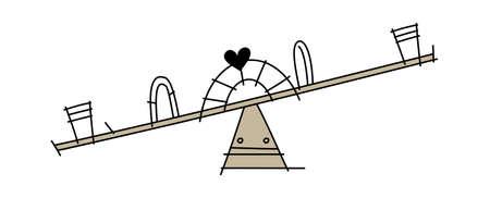 amusement park rides: vector icon
