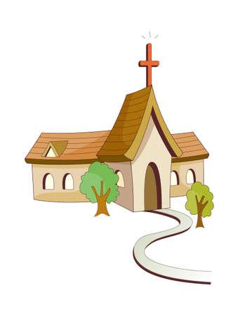 window church: vettore icona