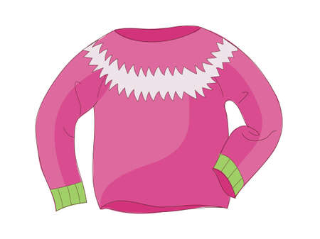 pullover: Vektor-Symbol Illustration