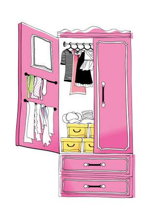 closets: vector icon