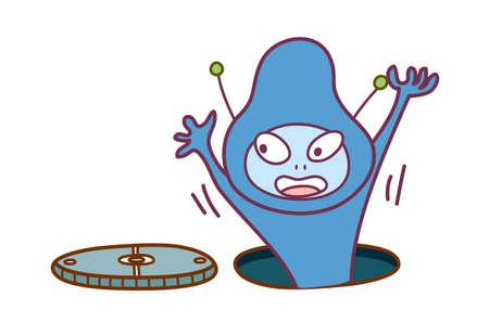 bacillus: vector icon