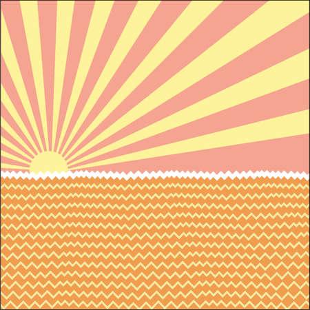 rising sun: La vista del sol naciente