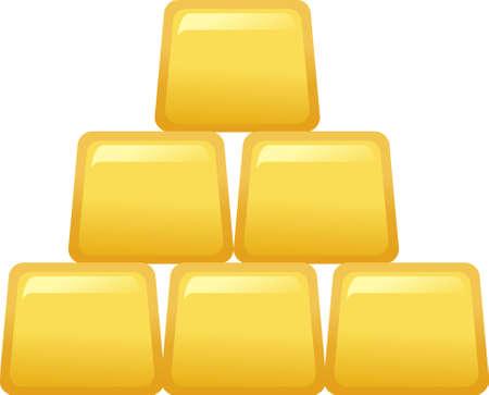 lingot or: Le point de vue de lingot d'or