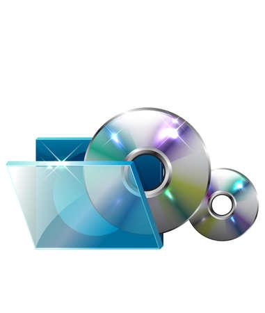cd case: La vista del disco compacto
