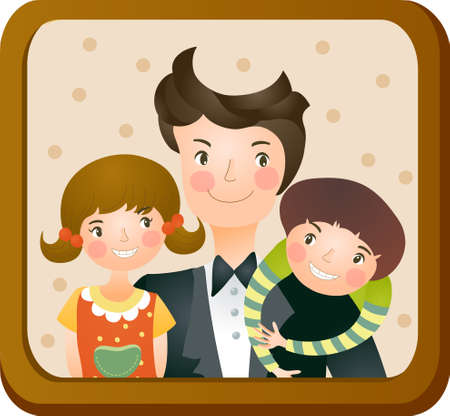family picture: La vista de la imagen de la familia