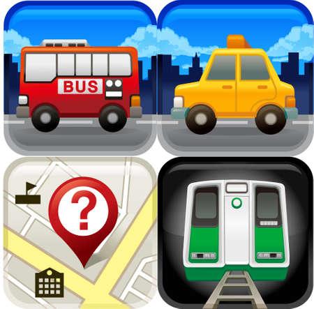 motorbus: La vista de iconos