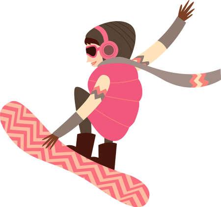 acolchado: El punto de vista de las mujeres montar snowboard