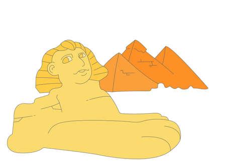 sphinx: La vista di sfinge con la piramide