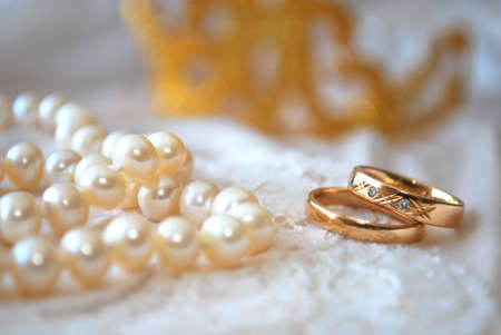 Rings and pearls photo