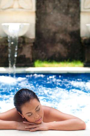 Woman In Pool Stock Photo - 6671799