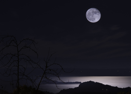 Dark night of full moon