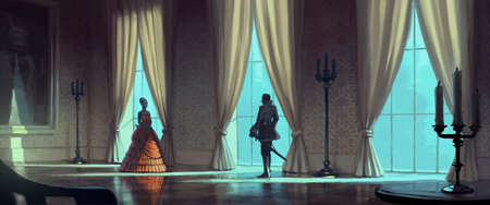 drover: Aristocratic meeting in the palace