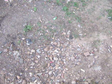 Stony ground Stock Photo