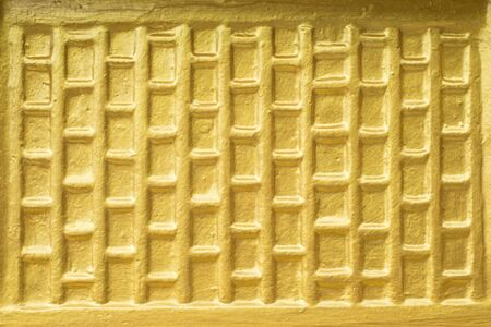 gold color: The Gold Color of the wall Stock Photo