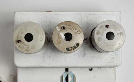 Old fuse box.