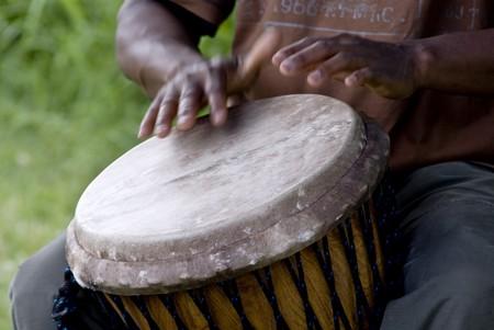 drums: Tambor  Foto de archivo