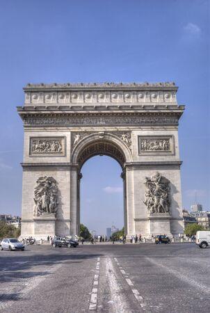 Arc de Triomphe  Reklamní fotografie