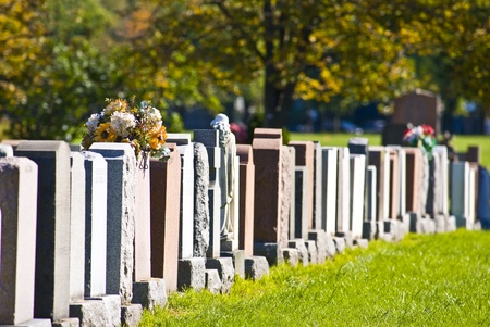 Montreal cemetery photo