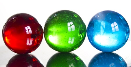 jacks: Marbles Stock Photo