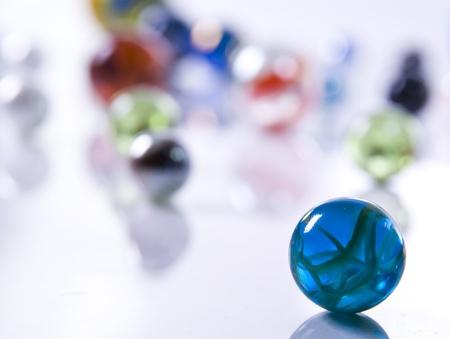 jacks: Marbles Stock Photo