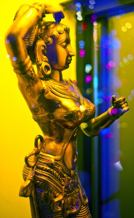 br: Indian Statue Stock Photo