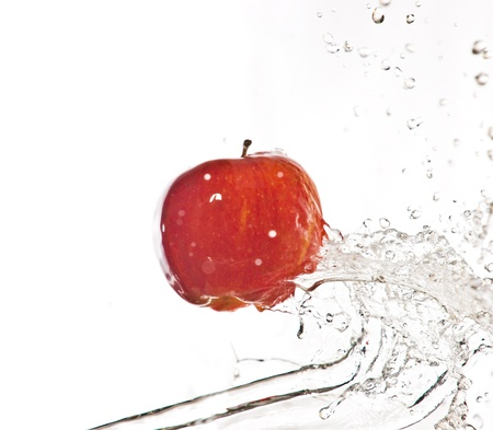 Fruits and splashes photo