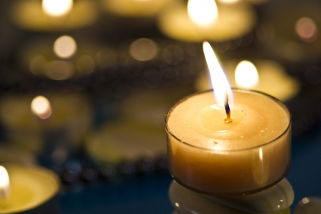 Candles Reklamní fotografie