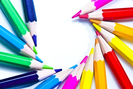 Colors pens photo