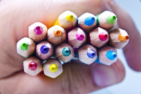 Colors pens Reklamní fotografie