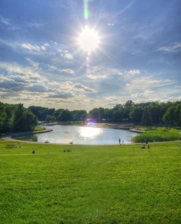 Mont royal park Reklamní fotografie