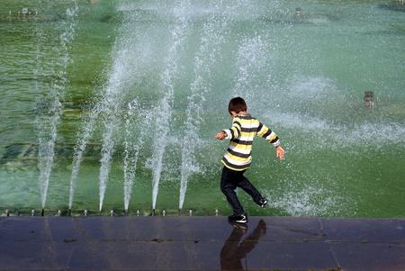 Fountain Reklamní fotografie