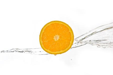 Fruits and splashes