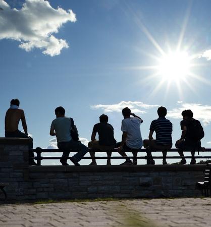 Friends Reklamní fotografie