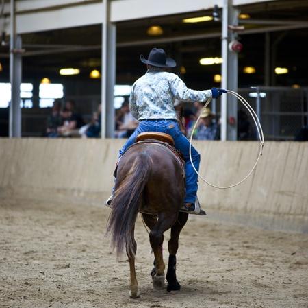 Cowboy Reklamní fotografie