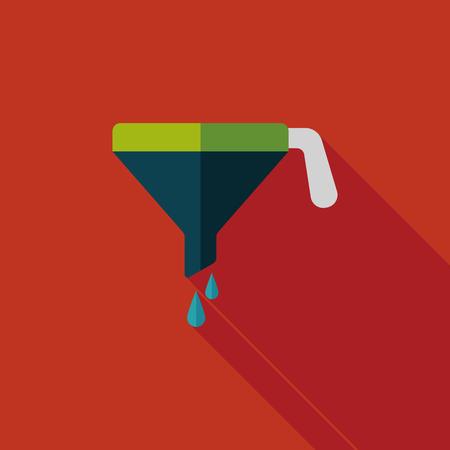 liquidizer: kitchenware funnel    Illustration