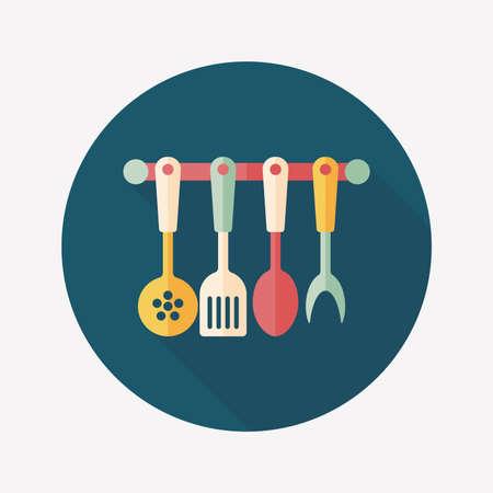 spatula: kitchenware spatula   Illustration