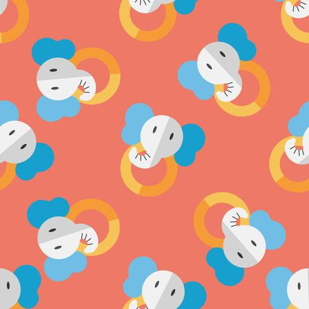 pull toy: elephant toy flat icon with long shadow,eps10 Vectores