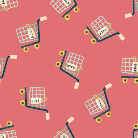 shoppingcart: shopping cart flat icon Illustration
