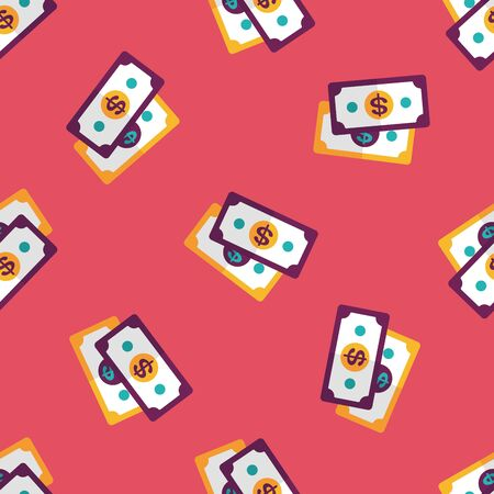 cash money: shopping money cash flat icon